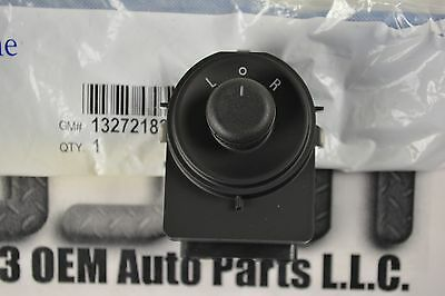 Chevy Cruze Rear View Side Mirrors Control Switch Button Unit # 13272182 OEM GM 2011-2014 Buick Regal