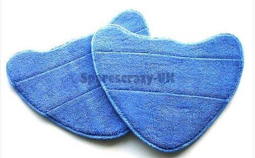 To fit VAX Bare Floor Pro S2S S3S S7 S86-SF-C Steam Washable Mop Cloth Pad 2 pk