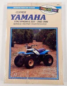CLYMER-Yamaha-YTM-YFM200-AND-225-1983-1986-Service-Repair-Manual-NEW