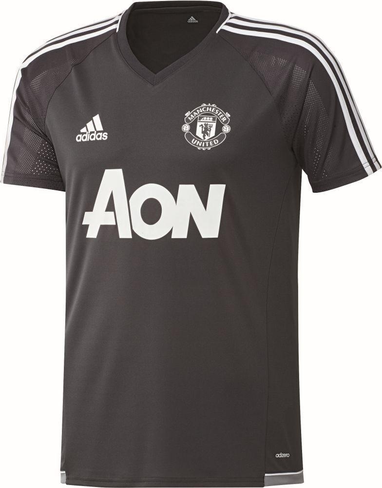Adidas Fußball Manchester United FC Trainingstrikot Herren schwarz weiß  | Sehr gelobt und vom Publikum der Verbraucher geschätzt