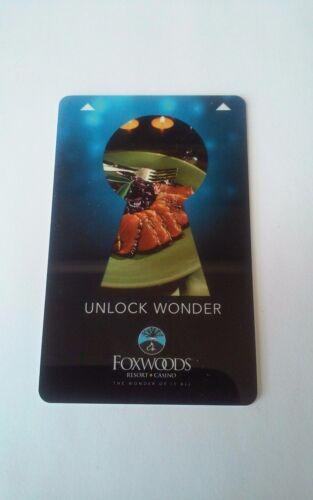 FABULOUS!! VARIOUS DESIGNS Foxwoods Resort Hotel and Casino Room Key