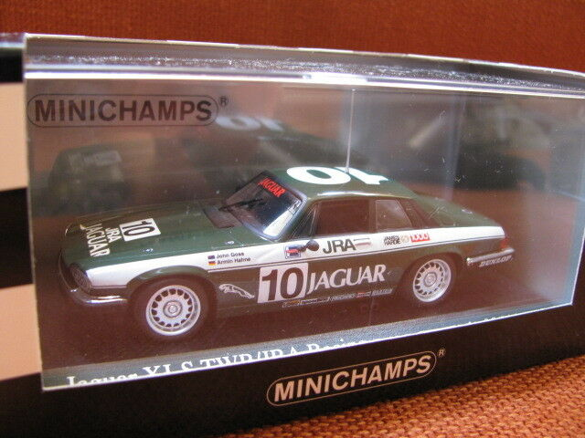 1/43 Minichamps Jaguar XJ-S TWR/JRA Racing Winner 1000 Bathurst  1985  diecast