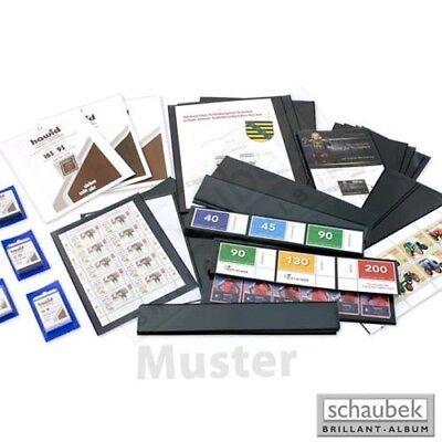packung Per 25 Geschickte Herstellung Kompetent Schaubek 1155 Schauclip-folienstreifen 210 Mm X 55 Mm Schwarz