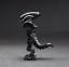 Brand New Moc Minifigure New /& Sealed Gift Lego Moc Black Upright Walking Alien