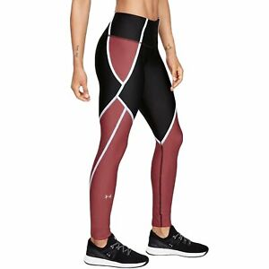 Under-Armour-UA-Womens-Heat-Gear-Edgelit-Gym-Training-Bottoms-Leggings