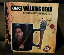 "NEW The Walking Dead Negan Bat ""Lucille"" Mug Jeffrey Dean Morgan 15 oz"