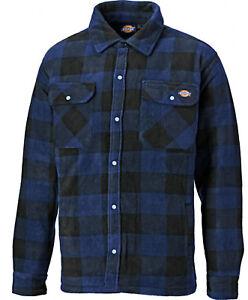 Para-Hombre-Dickies-Portland-Ropa-De-Trabajo-Acolchada-Camisa-Informal-SH5000-Real-Talla-S-4XL