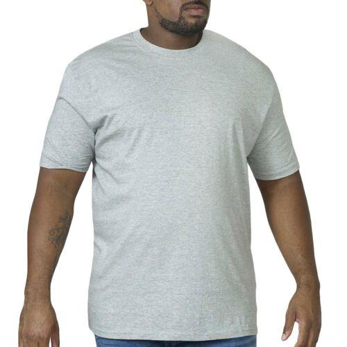 Duke D555 Hommes King Taille Grand Flyers Premium Coton Col Rond T-Shirt