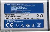 Samsung Li-ion Cell Battery Ab663450gz For Sch-u660 Convoy 2 Ii Verizon Schu660