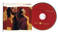 Cd PROMO MIGUEL BOSE' Sereno - 2001 cds singolo single Bosè