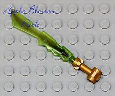 NEW Lego Ninjago EARTH ELEMENTAL BLADE - Ninja Cole Minifig Green Sword Weapon
