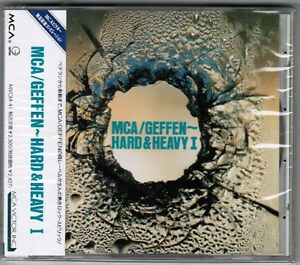 Sealed-MCA-GEFFEN-HARD-amp-HEAVY-I-V-A-Japan-Promo-CD-w-OBI-MVCM-41-Y-amp-T-DOKKEN