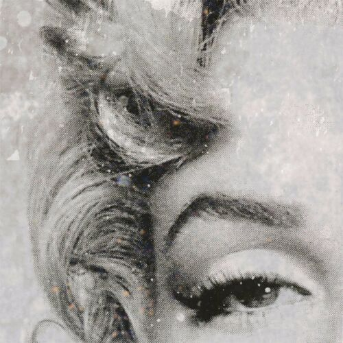 """ICON MARILYN MONROE SOME LIKE IT HOT CANVAS 39W/""""x39H/"""" LEGEND I by GERY LUGER"""