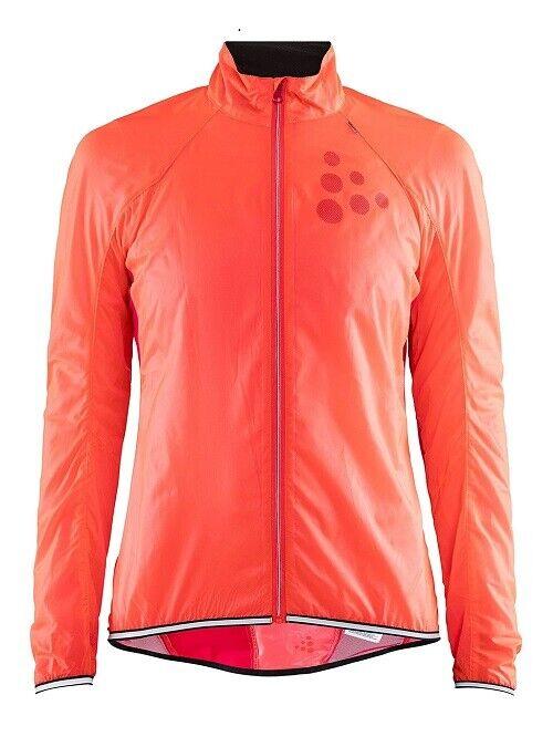 Craft LITHE JKT W in CRUSH JAM Größe XL DaSie Fahrradjacke leichte Fahrrad-Jacke