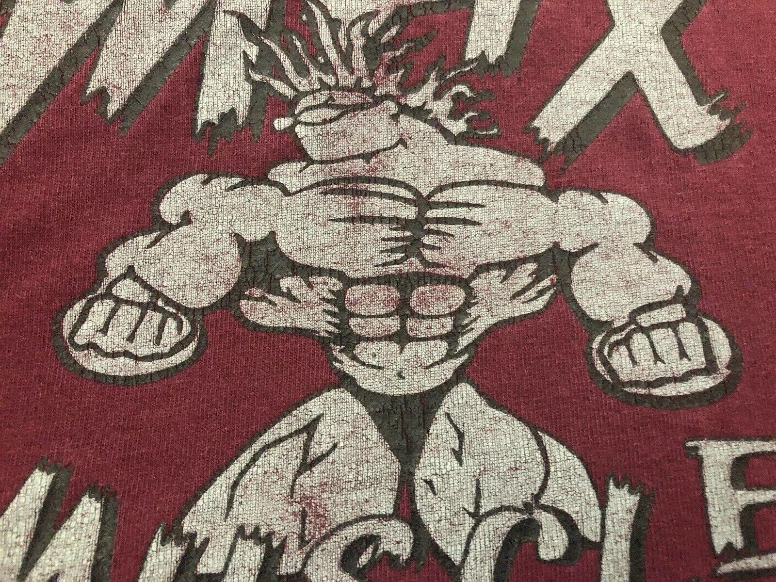 VTG.1995 MAX MUSCLE GYM BODYBUILDING männer's  Made In USA schweißhemd XL Fits 4XL