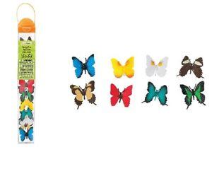Safari-ltd-684504-Papillons-8-Mini-Figurines-Serie-Zone-Thematique