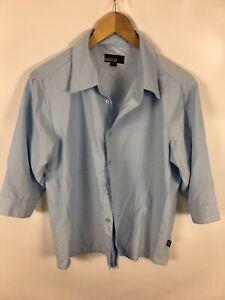 CECIL-Damen-Bluse-Groesse-M-hellblau-3-4-Armel-sehr-schick-und-schlicht