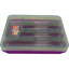 Transparent-5-or-6-compartments-Cutlery-Tray-Box-Insert-Cabinet-Kitchen-Drawer thumbnail 7