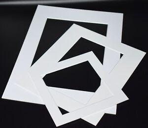 Foto-De-Blanco-Marco-De-Foto-Montajes-de-corte-en-bisel-1-4mm-tablero-de-montaje-de-nucleo-blanco