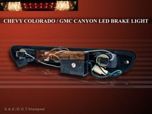 CHEVY COLORADO THIRD STOP BRAKE LIGHT LED SMOKE 2004-2010 GMC CANYON