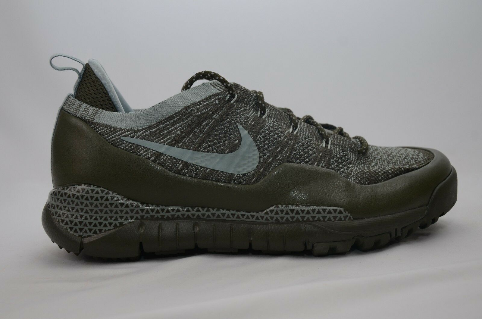 Nike Lupinek Flyknit Low Khaki/Green Uomo Size 9-11 New in Box 882685 300