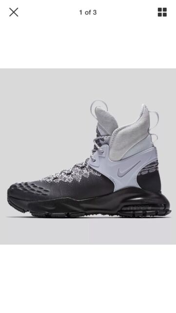 Nike Zoom Tallac Flyknit ACG Sz 8 NikeLab Leather Boot Black 865947 003 NNB