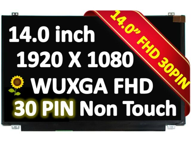 """14.0/"""" 1920x1080 LED Screen for AU OPTRONICS B140HAN02.1 LCD LAPTOP NON TOUCH"""