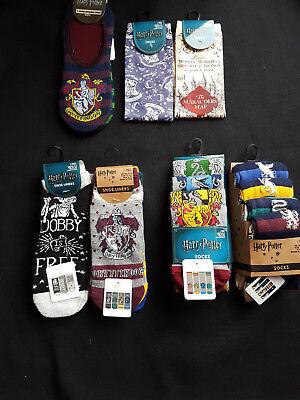 Neu mit Etikett Primark Damen Harry Potter Socken Gryffindor Hogwarts