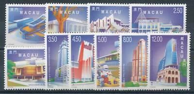 Preiswert Kaufen 271970 Macau Nr.1027-1036** Moderne Architektur Schrecklicher Wert China