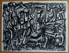 JACQUES CHEVALIER (1924/1999)    - ABSTRACTION LYRIQUE  - Signé