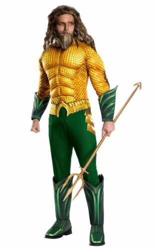 Aquaman Men/'s Deluxe Costume