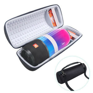 Newest pu carry protective speaker box pouch cover case for Housse jbl pulse 3