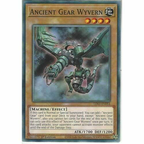 LDS1-EN084 Ancient Gear Wyvern1st Edition Common YuGiOh Trading Card Game TCG