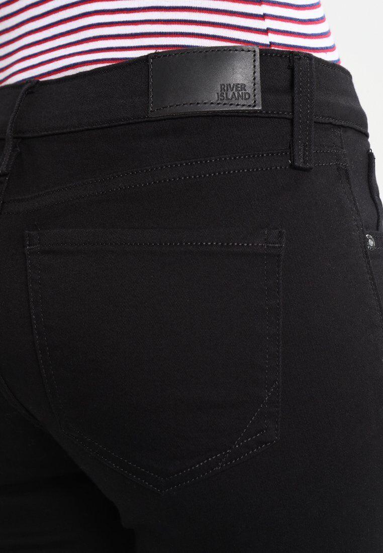 River Island Damen Jeans Skinny Fit schwarz Hose Gr. Gr. Gr. 40 A4708 fe9085
