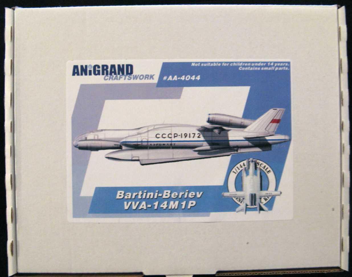 AniGre modellolos 1 144 BARTINI-BERREA VVA-14M13P Seaplane russo