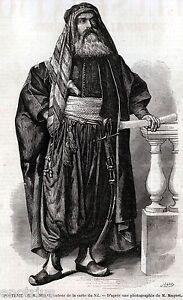 Giovanni Miani:Esploratore:Autore Prima Carta del Nilo.Rovigo.Stampa Antica.1859