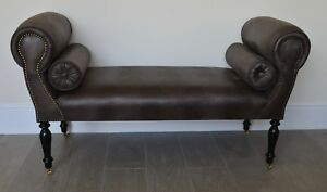 Image Is Loading Chaise Longue Lounge Sofa Daybed Bench Seat In