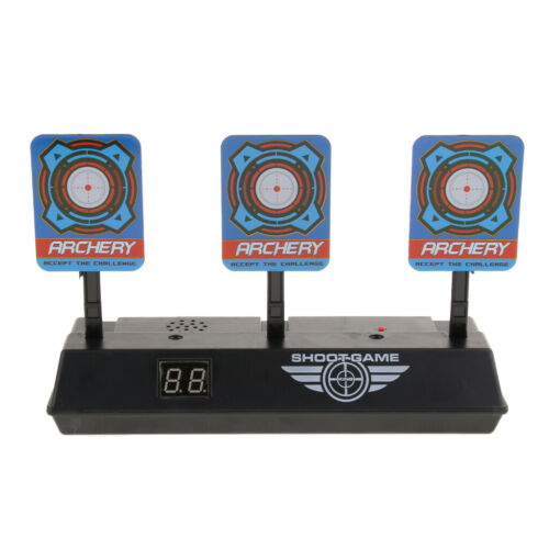 Electronic Digital Target w// Light Sound Effect Auto Reset Scoring Target