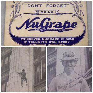 Merchandise & Memorabilia Ink Blotter Advertising Card