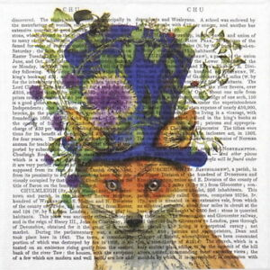 4x Paper Napkins for Decoupage Decopatch Craft Squirrel Love