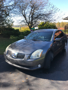 2005 Nissan Maxima SL - $4,300. Clean and Certified
