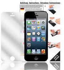 6x Displayschutzfolien für Apple iPhone 5 / 5S / 5C Schutzfolie Klar Folie