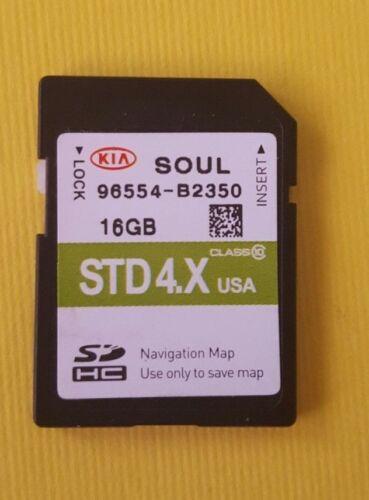 96554-B2350 2014 2015 KIA Soul Navigation SD CARD DATA  Map 96554B2350 OEM GPS