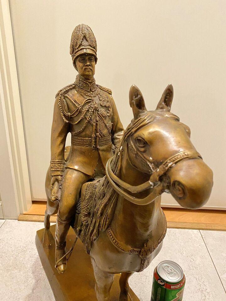 Bronzefigur, motiv: Kong Rama d.5