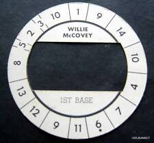 Cadaco All-Star Baseball Game Disk Willie McCovey 1st Base Giants