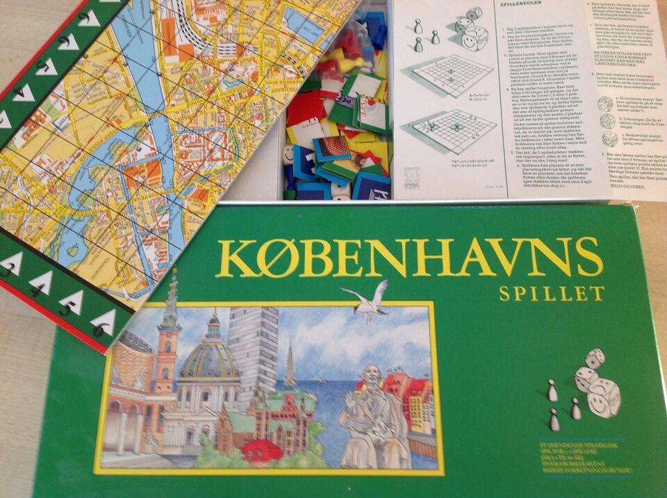 Københavns Spillet, brætspil