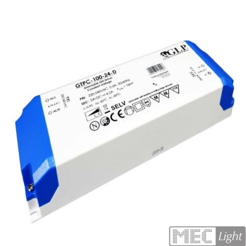MM Slim Line LED Trafo Netzteil dimmbar 12V DC 100W 8,3A GTPC-100-12-D