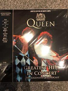 Queen -  Greatest Hits In Concert TOKYO Live 1985 -  New LTD EDT WHITE Vinyl LP