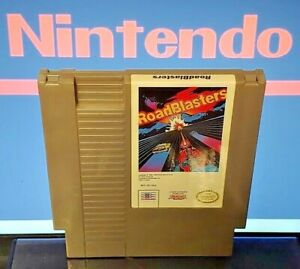Roadblasters-Nintendo-NES-Game-Rare-Tested-Works-Great-Authentic-Road-Blasters