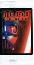 STAR Wars Cavalieri Jedi carta promozionale p1